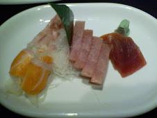 北市大安路三牛日本料理刺身定食