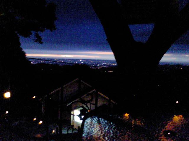 酒桶山夕陽