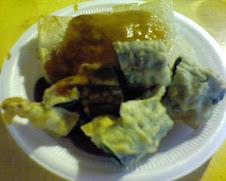 通化夜市炸粿與韭菜捲$60
