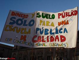 Manifestación 25 marzo 09