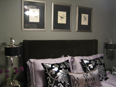 Grey  White Bedding on Material Girls   Premier Interior Design Blog   Home Decor Tips