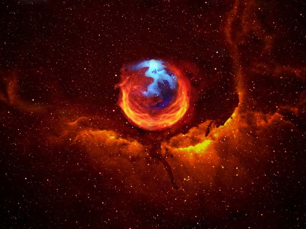 Universe Firefox Wallpaper