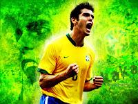 1024x768, Soccer, Brazil, Kaka