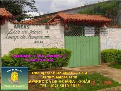 """Associação Núcleo Espírita """"AMIGO DE SEMPRE"""" - Lar de idosos"""