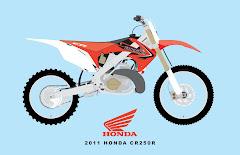2011 HONDA CR250R
