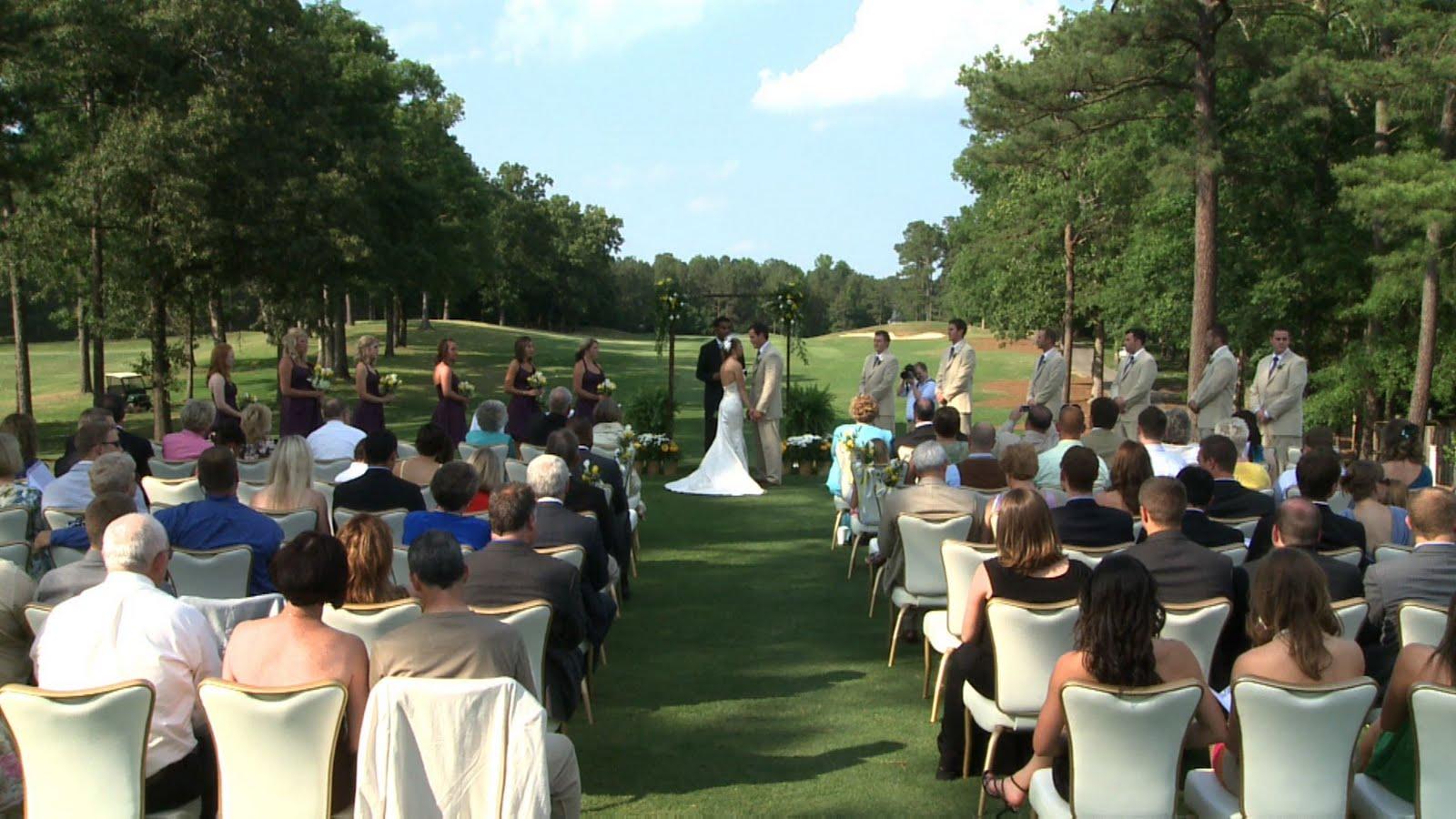 Outdoor Wedding In Chapel Hill