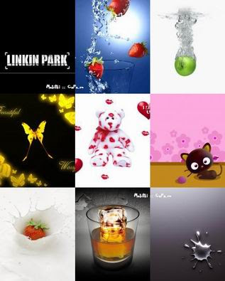 300 Wallpapers for Mobile Phones (176x220) Size: 2 Mb Download: