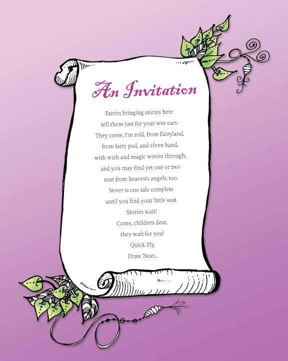 dobriendesign: A Lovely Fairy Invitation