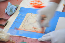 encaustic works on paper