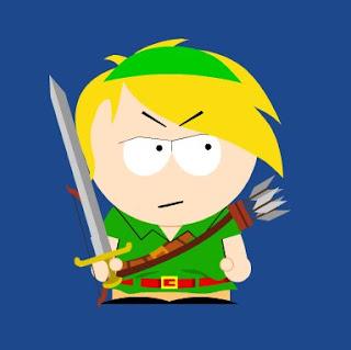 Zelda Link South Park, Resigned Gamer