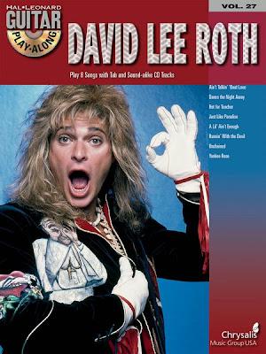 david lee roth, guitar hero, the resigned gamer