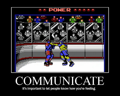 Blades of Steel motivational poster, NES, Resigned Gamer