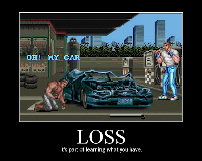 final fight motivational poster oh my car arcade resigned gamer