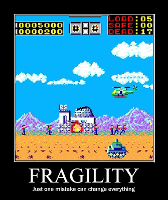 choplifter motivational poster, sega master system, resigned gamer