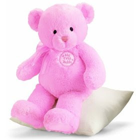 pink lovely teddy bear