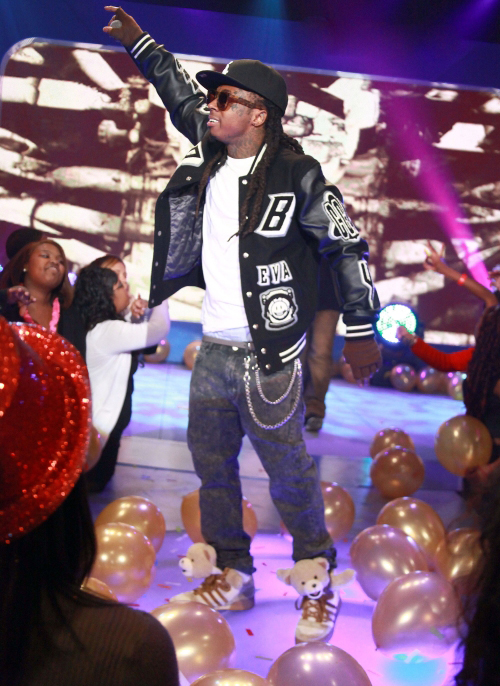 Lil Wayne Rocks Teddy Bear Adidas Sneakers Jeremy Scott, Adidas Originals