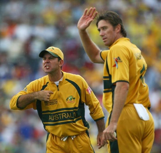 Ricky Ponting Glenn McGrath World cup