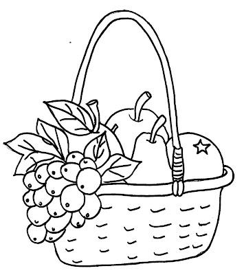 mari mewarna buah buahan