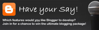 Blogger Competition: win the ultimate blogging package!