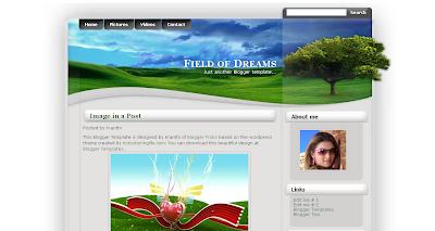 125 excelentes templates para Blogger Field+of+Dreams
