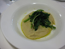 Fava Puree with Wild Chicory