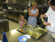 Christine, Francesca, & Chef Damiano