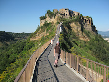 CJ Walking up To Civita
