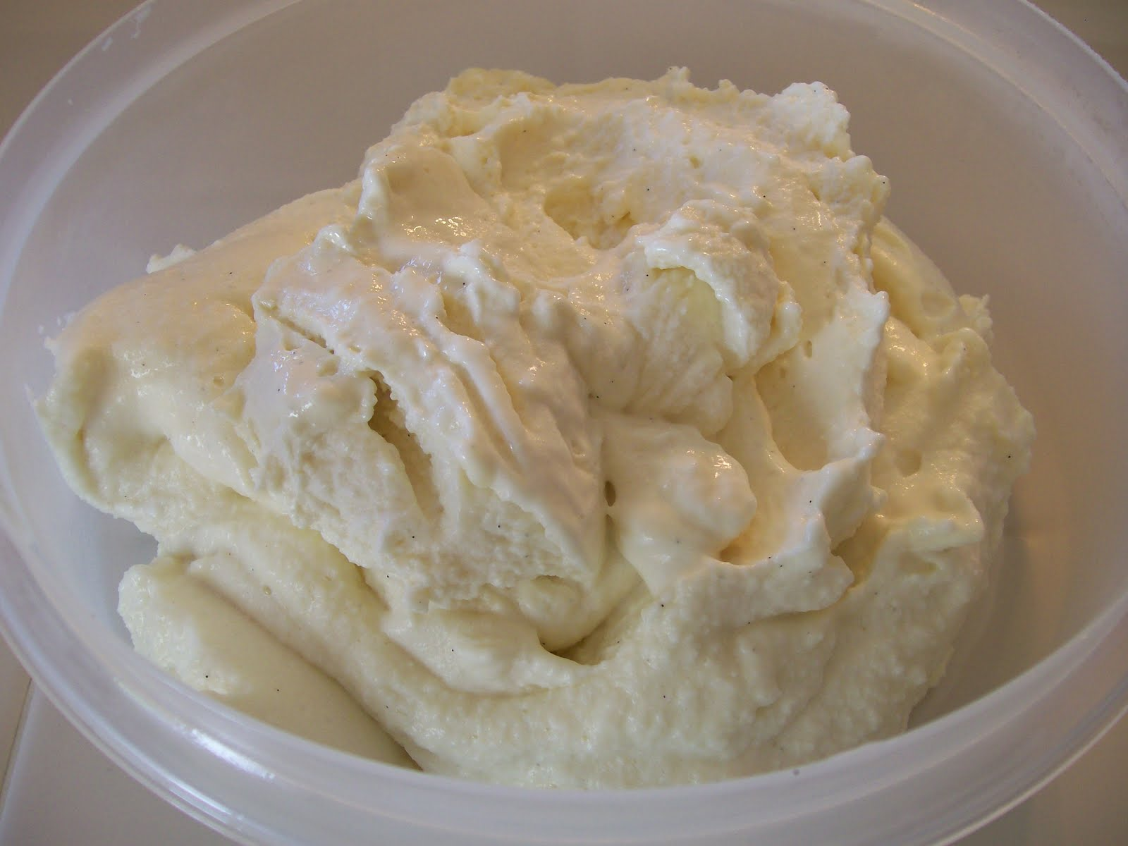 Very Vanilla Ice Cream Recipe — Dishmaps