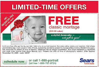 Sears Portrait Studio: FREE Photo Montage + More!