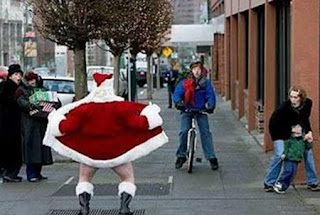 santa the flashing idiot