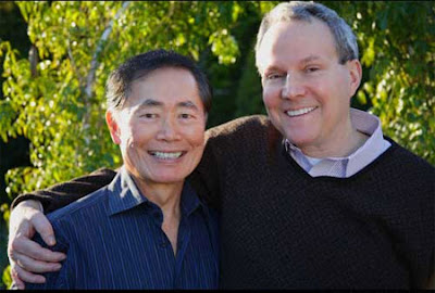 Star Trek superstar George Takei and longtime love Brad Altman announce their engagement - Photo courtesy of monstersandcritics