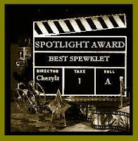 The Spewker Spotlight Award is easily earned