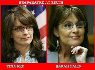 Sarah Palin and Tina Fey Separated at Birth - duh!