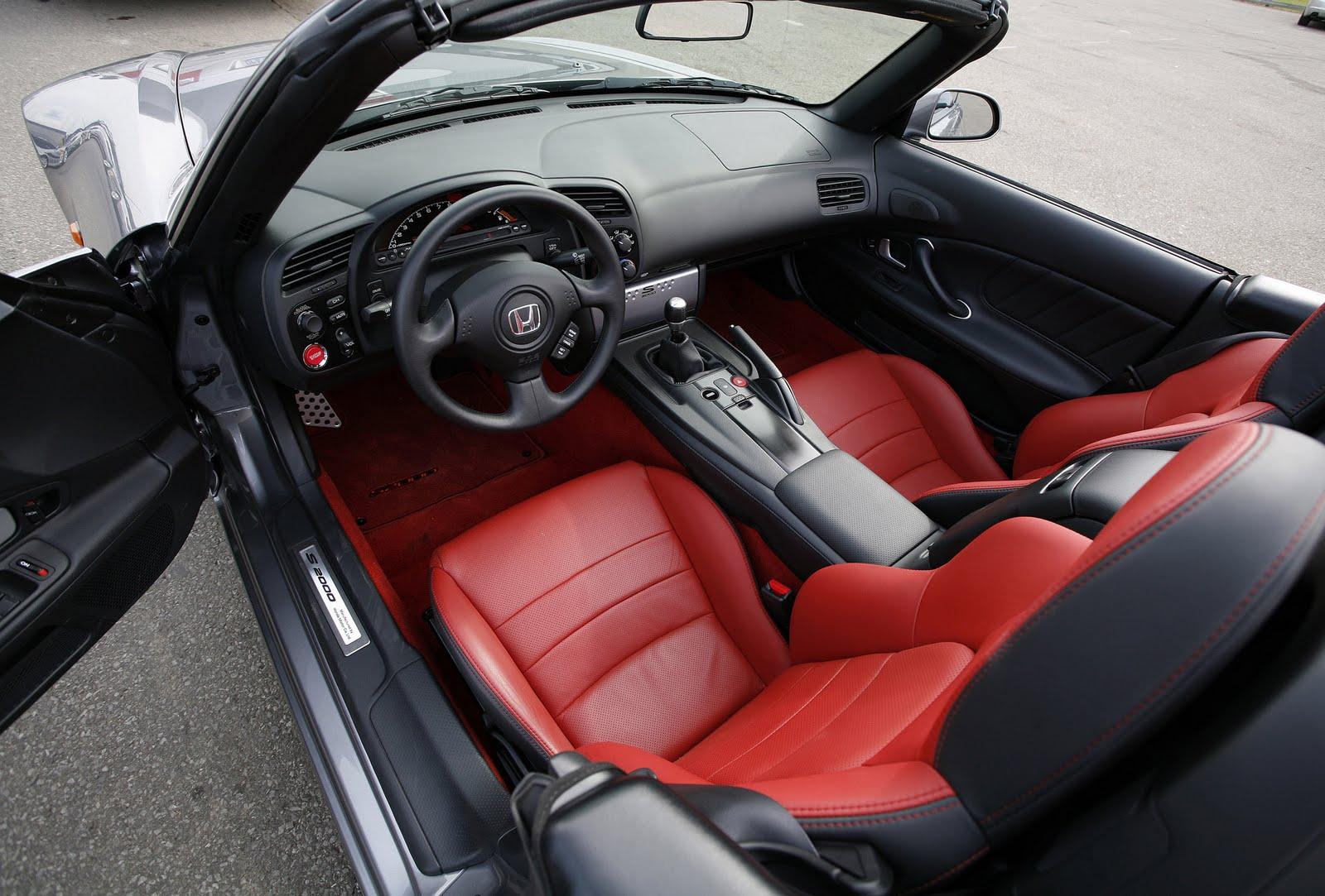 Tom\'s Honda S2000 Blog: S2000 Interiors