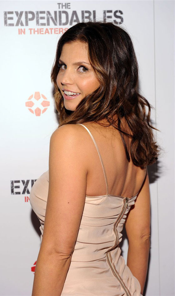 Charisma carpenter cleavage casually