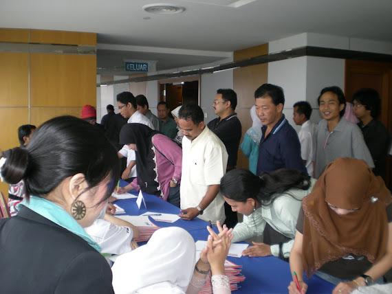 Pendaftaran Seminar