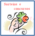 Sorteios e concursos do blog