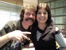 Sr. Madruga e eu na sede da Rede Globo