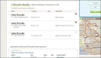 Найти Джона Траволту