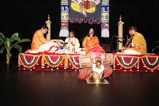 Miami subbudu mridangam arangetram prem seetharaman for Arangetram stage decoration ideas