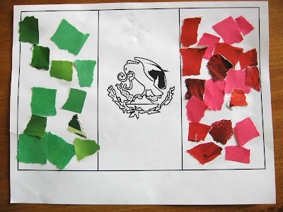 mexico flag pictures. mexico flag coloring page