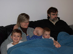Watching the Olympics with the Grandkids