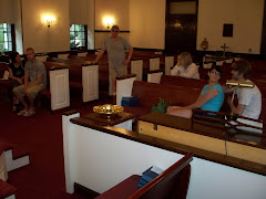 """Inside the Colonial Style """"Old Bensalem Church"""""""