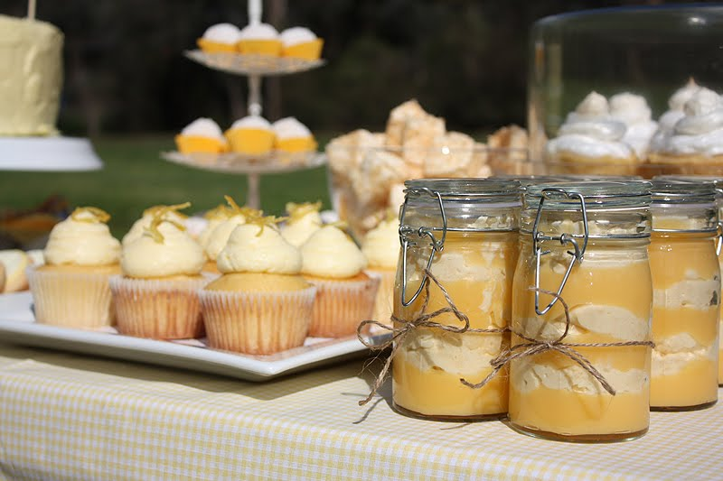 Cake Ink.: lemon inspired birthday picnic
