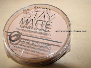 Rimmel Stay Matte pressed powder – teszt