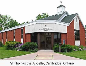 St Thomas the Apostle, Cambridge, Ontario