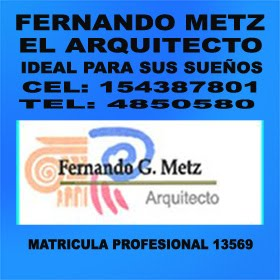 FERNANDO METZ  ARQUITECTO TEL: 4850580