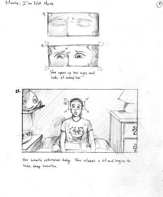 I'm Not Here storyboards, pg5