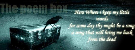 The poem box