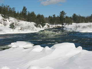 Saugeen River in Bruce County